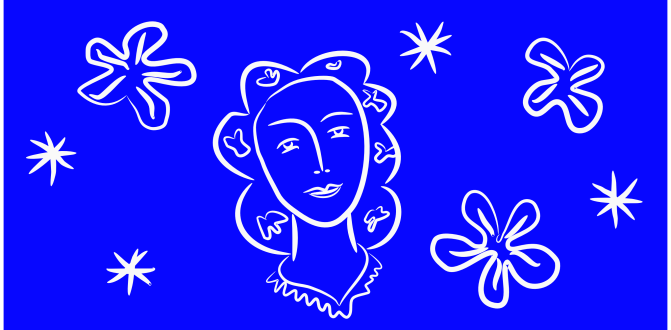 Grafiek, éénkleurendruk, Matisse en Inkscape