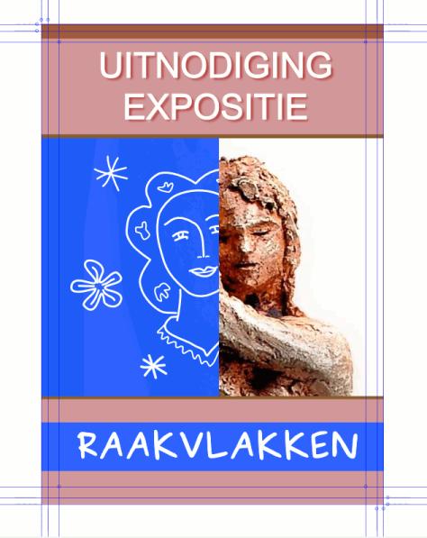 ontwerp affiche in Inkscape met hulplijnen