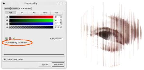 Inkscape filter puntgravering 4