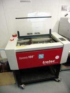 Trotec Speedy 100 lasernijderder