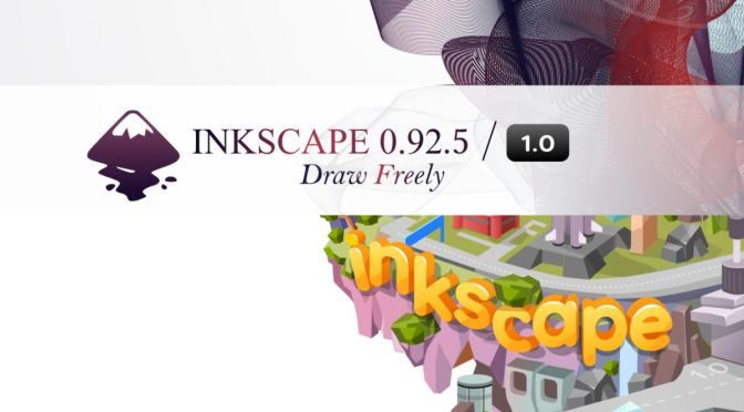 Inkscape 0.92.5 is uit!